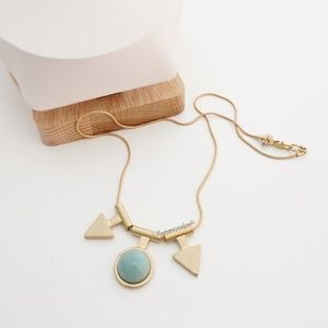 Madewell Jade Arrow Necklace - NWOT